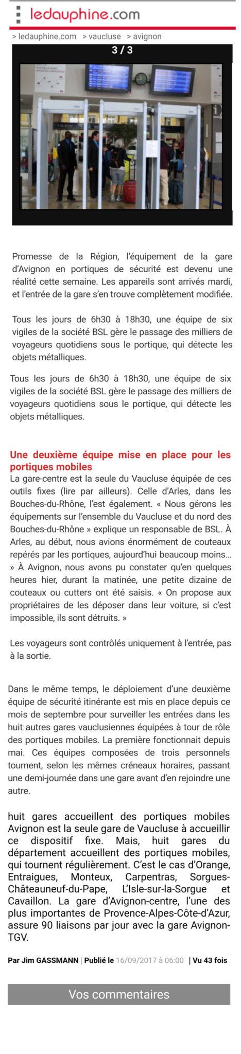Le-Dauphiné-societe-de-securite-privee-lyon